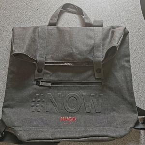 Hugo Boss Perfumes #NOW Gray Backpack